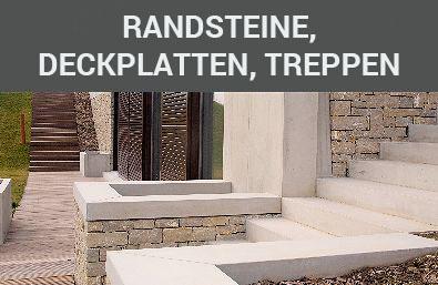 randsteine, deckplatten, treppen